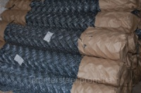 Сетка оцинкованная 15х15х1 плетеная «рабица»