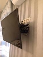 Повесим телевизор на стену.монтаж,навес,установка LED телевизора в Донецке escape:'html'