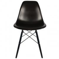 Дизайнерский стул DSW Eames Тауэр Вуд, цвет черный