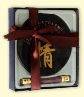 Набор «Подарочный» с круглой подставкой и благовониями №2