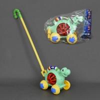 Каталка 0333 (72) «Динозаврик» на палочке, с погремушкой, в кульке|escape:'html'