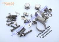 КРЕПЕЖ НЕРЖАВЕЙКА ( stainless steel ) ЯВА/JAWA 638, 634, CZ, ЧЕЗЕТ :|escape:'html'
