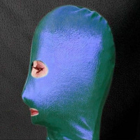 РАСПРОДАЖА! Зеленая/синяя маска из винила|escape:'html'