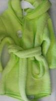 Махровый халат с поясом и капюшоном