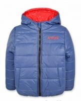 Детская зимняя куртка на мальчика, синяя, р.92,98 110 escape:'html'
