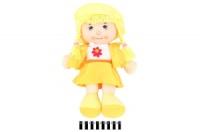 Лялька м«яка муз. в капелюшку 3 види R0718 р.46х30 см. escape:'html'