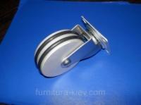 Колесо промышленное алюминиевое 75мм escape:'html'