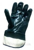 Перчатки рабочие хлопчатобумажные с нитриловым покрытием и твердым манжетом.|escape:'html'