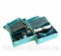 Комплект органайзеров из 2 шт с крышками Мохито Код:103-10218016