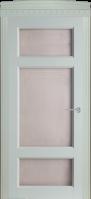 Дверное полотно остекленное № 55 (цвет оливка) 2000*40*600,700,800,900 мм.|escape:'html'