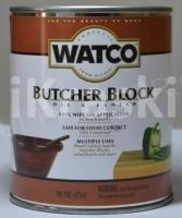 Масло для разделочных столов и досок прозрачное, Watco, 0,472 л