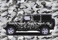 Автомобильная плёнка камуфляж escape:'html'