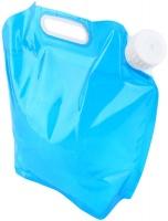 Удобная складная гибкая канистра для воды 5л синяя