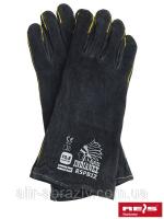 Защитные перчатки изготовлены из яловой кожи|escape:'html'