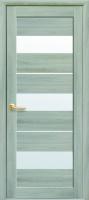 Дверное полотно Лилу со стеклом сатин