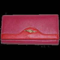 Кошелек женский (заменитель кожи), 0988-PINK/RED Розовый, размер 180*90*25|escape:'html'