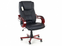 Кресло для руководителей с массажем PRESIDENT черный!