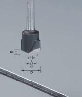 Фреза V-образная HW D18-135GRAD (ALU) пазовая для фрезерования композитных панелей 135 градусов|escape:'html'