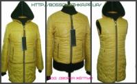 Размеры: 32. 34. 36. 38 Детский комплект жилет + курточка