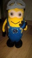 «Миньйон» - вязаная игрушка для Вашего ребенка с известного мультфильма от автора handmade - Ирины Обжеляновой!