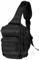 Рюкзак однолямочный через плечо 8,5л MilTec Assault Black 14059102|escape:'html'