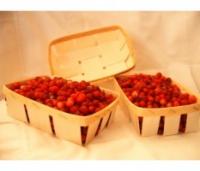 Лубяная тара(лукошко) для клубники и других ягод.180х135х65 мм.(ЧП-180).Цена договорная