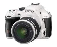 ЦИФРОВАЯ КАМЕРА PENTAX K-50 KIT 18-55 WR 16MP WHITE|escape:'html'