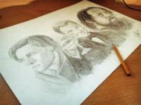 Портрет карандашем (ч/б)|escape:'html'