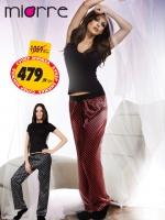Пижамные штаны женские черные/красные|escape:'html'
