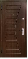 Бронированные двери с МДФ накладками «Бастион»