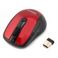 Беспроводная мышка SONY VAIO Красная|escape:'html'