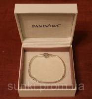 Браслет Pandora Пандора серебряное украшение на руку серебро 925 с упаковкой|escape:'html'