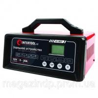 Зарядное устройство 12В, 5/10/15/20А, 230В, режим реанимации, десульфатации аккумулятора INTERTOOL AT-3021 Код:649660640|escape:'html'