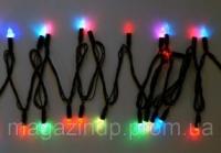 Гирлянда светодиодная LED 200 с черным проводом Код:218-21513562 escape:'html'