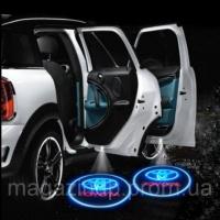 Светодиодная подсветка на двери с логотипом автомобиля Код:50042165