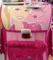 Школьный ранец Kinderline Barbie BRDLR-12T-568 (37х30х16,5см)