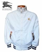 Ветровка куртка детская белая на флисе, бренд «Burberry» (Барбери)|escape:'html'