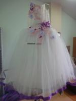 Нарядное детское платье «Маринка»-0087