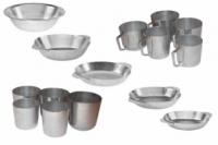 Алюминиевые кружки, тарелки и стаканы .|escape:'html'