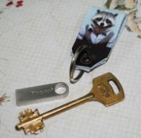 Брелок для ключей -Енот-