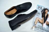 Кожаные туфли черные Prime Shoes|escape:'html'