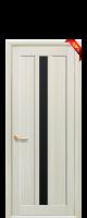Дверное полотно Марти с черным стеклом|escape:'html'