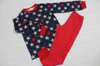 Пижама детская с начесом «Звезда» escape:'html'