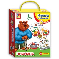 Игра со звонком «Путаница» («Vladi-toys»)