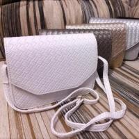 Стильная сумочка под плетеную кожу, цвета в наличии|escape:'html'