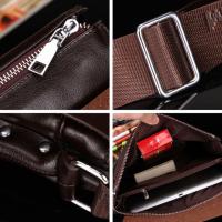 Мужская сумка барсетка Bandicoot натуральная кожа средний размер