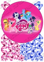 Вафельная картинка My Little Pony 02 escape:'html'