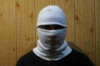 Балаклава белая флисовая|escape:'html'