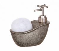 Дозатор с мочалкой Серебряная ванна|escape:'html'