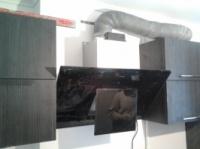 Установка кухонной вытяжки в Днепре ( Днепропетровске), монтаж вытяжки на кухне